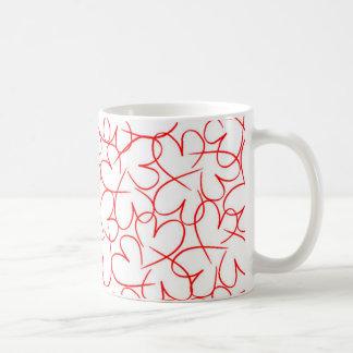 Anknöt hjärtor 2014 kaffemugg
