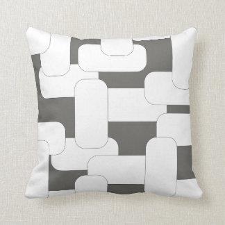 Anknöt vit & grå färg kudde