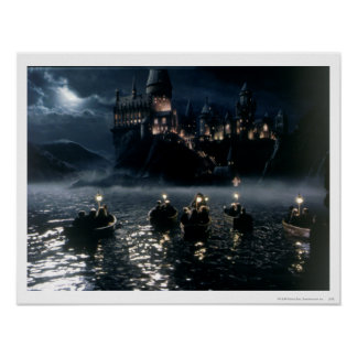 Ankomst på Hogwarts Poster