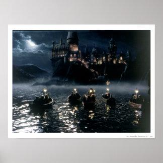 Ankomst på Hogwarts Posters