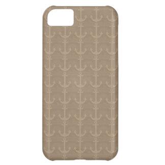 ankrar på sanden iPhone 5C fodral