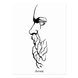 Anletet av Socrates Vykort