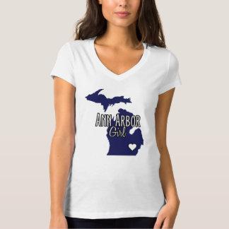Ann Arbor flickamarin T-shirt