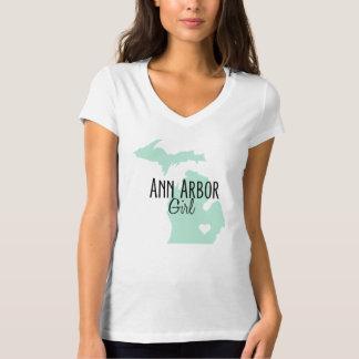 Ann Arbor flickaMint T-shirt