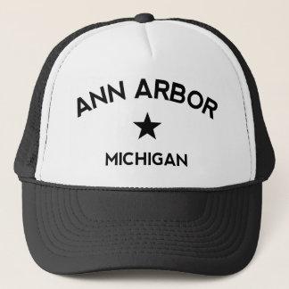 Ann Arbor Michigan lastbilsförarelock Keps