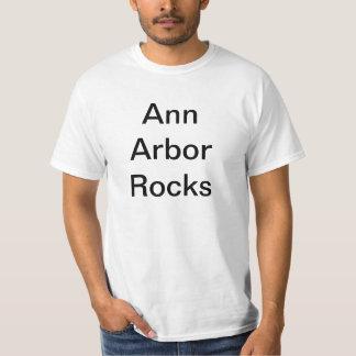 Ann Arbor vaggar T-tröja T Shirts