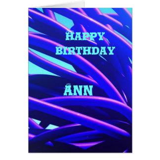 Ann Hälsningskort