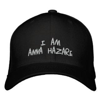Anna Hazare Broderad Keps