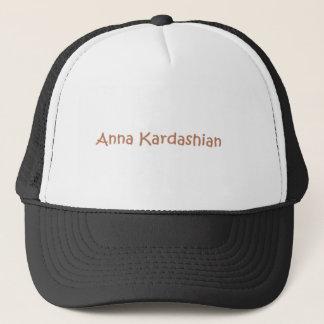 Anna Kardashian hatt Keps