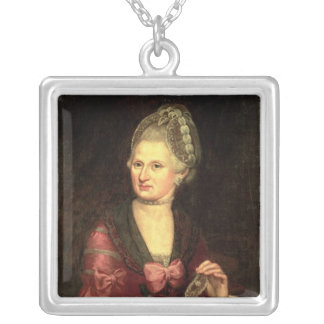 Anna Maria Mozart, nee Pertl Silverpläterat Halsband