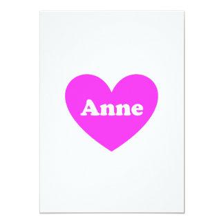 Anne 12,7 X 17,8 Cm Inbjudningskort