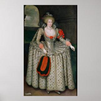 Anne av Danmark, c.1605-10 Poster