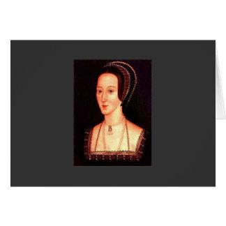 Anne Boleyn Hälsningskort