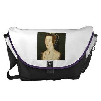Anne Boleyn porträttmessenger bag Kurir Väska