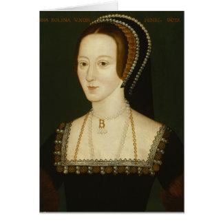 Anne Boleyn - tomt hälsningkort Hälsningskort
