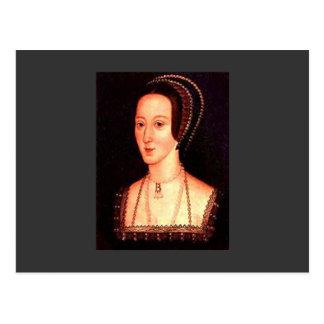 Anne Boleyn Vykort