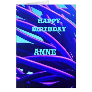 Anne Hälsningskort