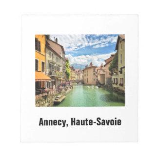 Annecy anteckningsblock
