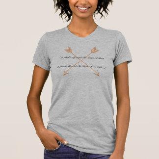 Annie Oakley citationstecken mig inte rädd Tee Shirt