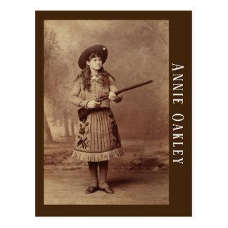 Annie Oakley Sharpshootervykort Vykort