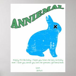 Anniemal affisch