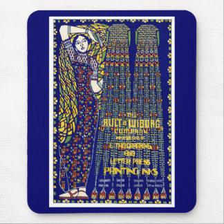 Annons för art nouveauPrintingbläck Mus Matta