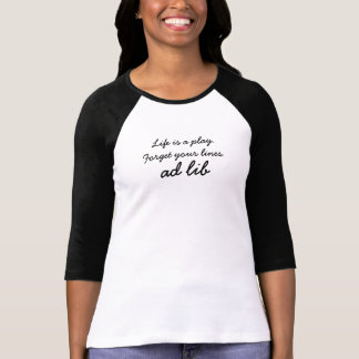 Annons - lib - kvinna T-tröja T Shirts