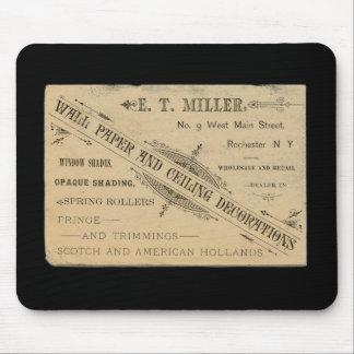 Annons Rochester N.Y. Mousepad för vintageväggpapp Musmatta