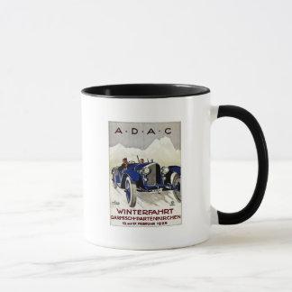 Annonsering 1925 för ADAC-vintagebil Mugg