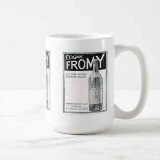 Annonsering Cognac Fromy Kaffemugg