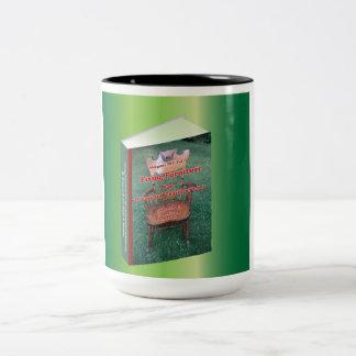 Annonsering för att fixa möblemang Två-Tonad mugg
