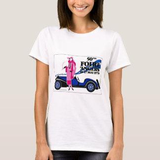 Annonsering för fransk för Foire d'Angersvintage T Shirts