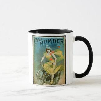 """Annonsering för """"Humber cyklar"""" (färglithoen) Mugg"""