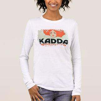 """Annonsering för """"Kadda cigaretter (färglitho Tee Shirts"""