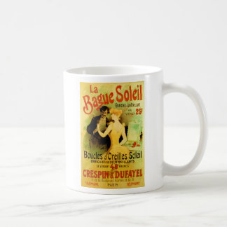 Annonsering för smycken för Bague Soleil vintage Kaffemugg