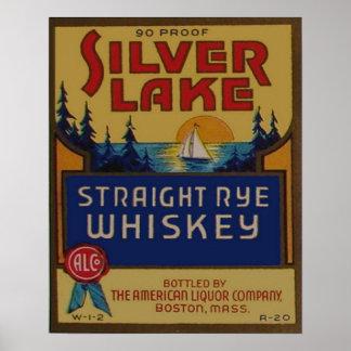 Annonsering för starksprit för vintageRye Whiskey Poster