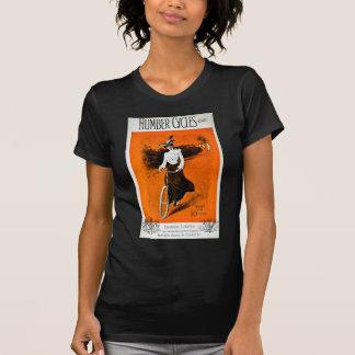 Annonsering för vintageHumber cykel Tee Shirt
