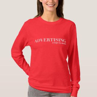 Annonsering hjälper mig att avgöra t shirts
