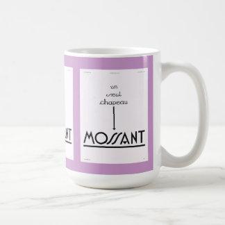 Annonsering Mossant Kaffemugg