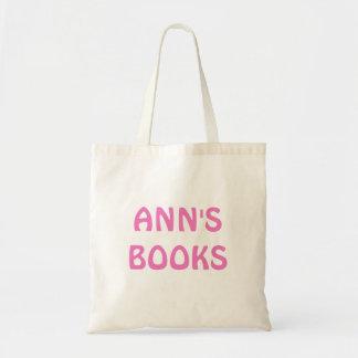 Anns BOKAR i rosa anpassade på toto hänger lös Budget Tygkasse