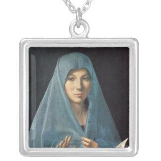 Annunciationen, 1474-75 silverpläterat halsband
