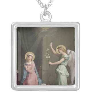 Annunciationen, 1859 silverpläterat halsband