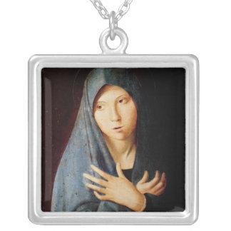 Annunciationen, c.1473-74 silverpläterat halsband