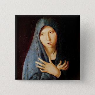 Annunciationen, c.1473-74 standard kanpp fyrkantig 5.1 cm