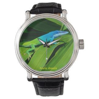 Anole klocka: Anolisallisoni Armbandsur