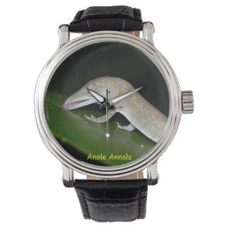 Anole klocka: Anolisoccultus Armbandsur