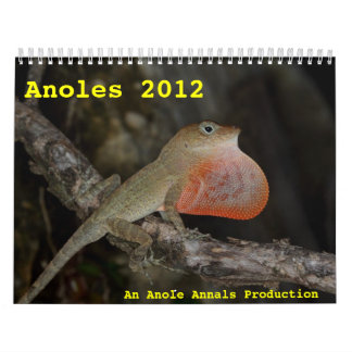 Anoles 2012 kalender