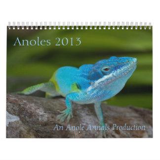 Anoles 2013 kalender