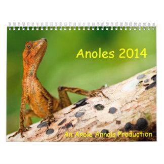 Anoles 2014 kalender