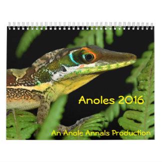 Anoles 2016 - En Anole annalerproduktion Kalender